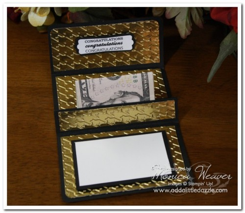 Great Grads Metal Embossed Pop-Up Gift Card Holder