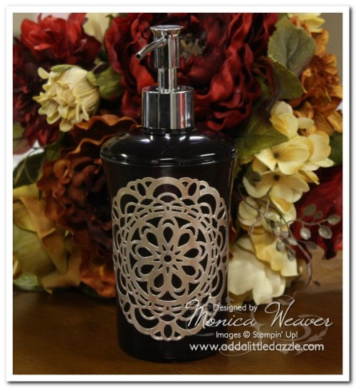 Paper Doily Metal Foil Tape Sheets Soap Dispenser