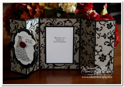 Love & Laughter Double Z-Fold Card