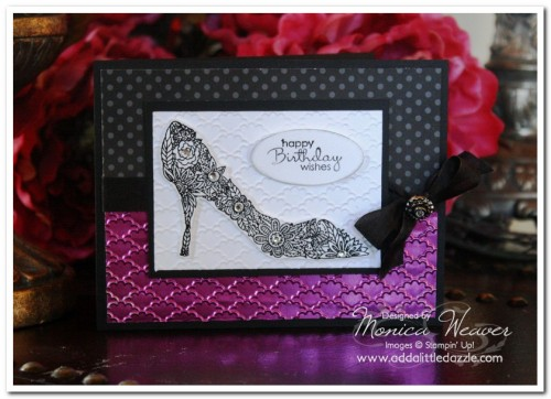 Fabulous You Metal Embossed Card