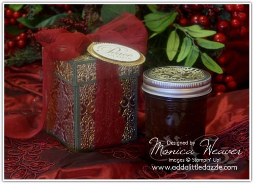 Christmas Sugar Scrub & Metal Embossed Gift Box