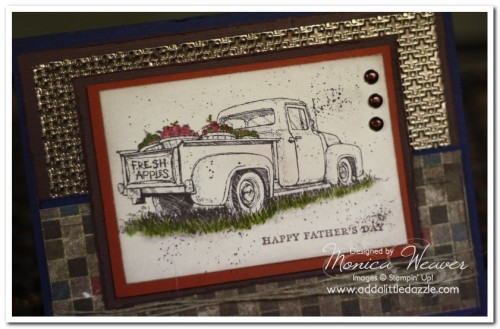 DIY Cards: Masculine Easel Card
