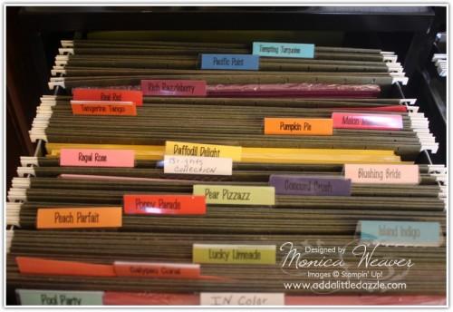 How Do You Organize Card Stock?