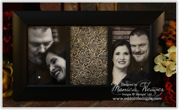 Metal Embossed DIY Picture Frame