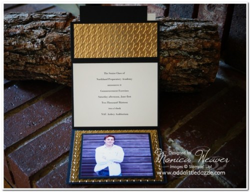 Homemade Graduation Card Invitation