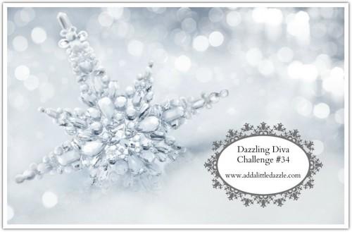 Dazzling Diva Challenge #34-www.addalittledazzle.com