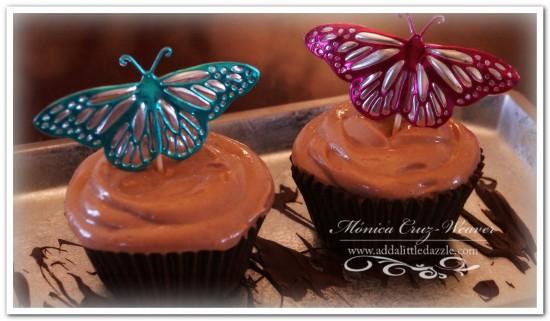 butterfly dessert