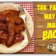 The Fastest Way to Cook Bacon