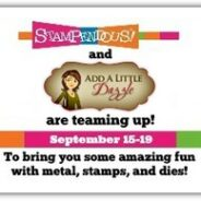 Add a Little Dazzle and Stampendous Blog Hop- Day #5